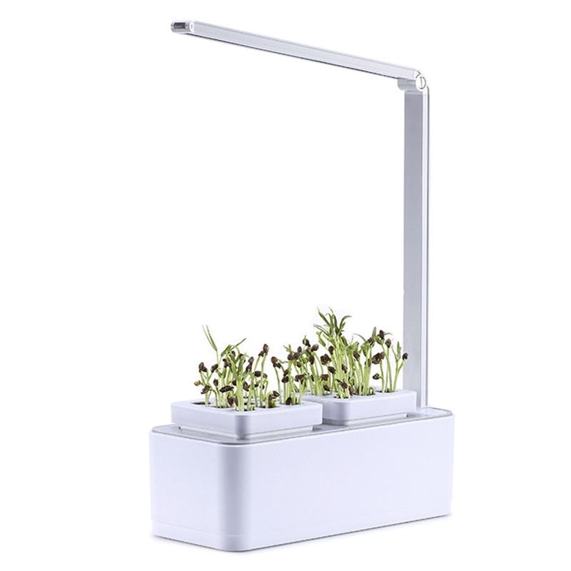 Smart Herb Garden Kit Led Grow Light Tanam Hidroponik Multifungsi Lampu Meja Taman Tanaman Bunga Hidroponik Tumbuh Tenda Kotak U Bunga Pot Planters Aliexpress