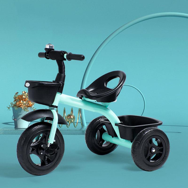 Enfant vélo Tricycle 2-6 ans titane roue vide Installation rapide réglable plusieurs choix enfant préféré