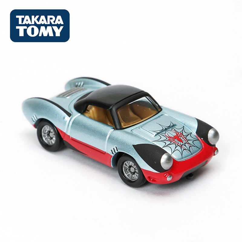 TAKARA TOMY จำลองรถ Marvel T.U.N.E. Evo. 3.0 Barrett Shot 2000 Avengers Spiderman โลหะ Diecast 89702