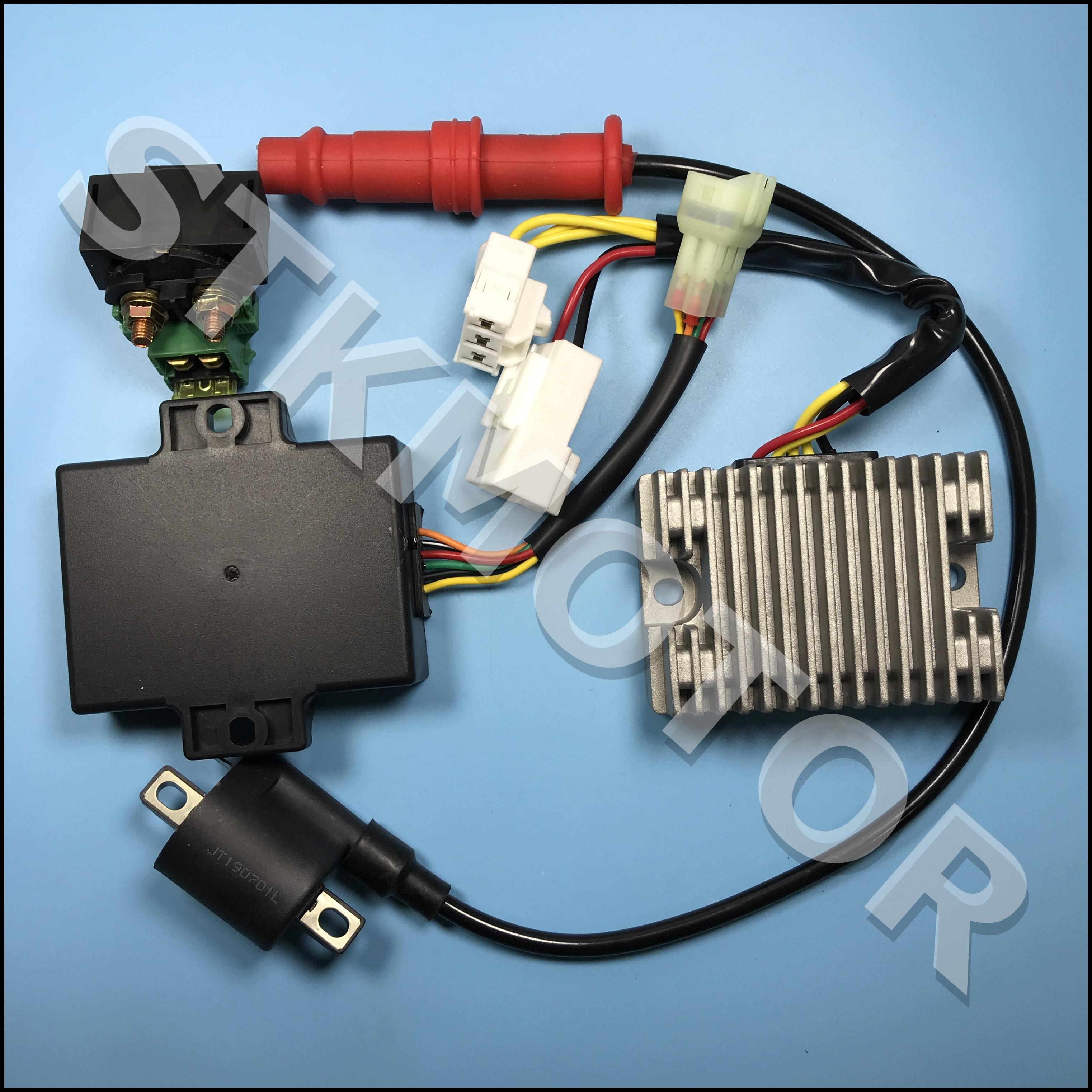 KAZUMA 500 500CC ATV Quad Electric Parts CDI катушка зажигания реле регулятор напряжения