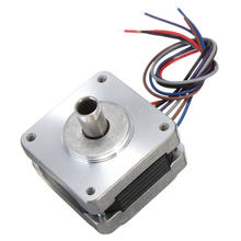 1pcs 39MM Hollow Shaft Hybrid Stepper Motor 4 Phase 5 Wire Square 1.8 Degrees Stepper Motor Support Dropshipping(China)
