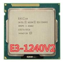 Процессор Intel Xeon 1240 v2 E3 3,40 V2, 8 Мб кэш памяти, 1240 ГГц SR0P5 LGA1155 E3 v2, процессор, бесплатная доставка, E3 1240