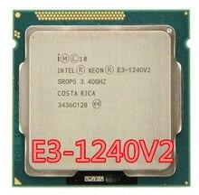 Intel Xeon E3-1240 v2 E3 1240 V2 8M Cache 3,40 GHz SR0P5 LGA1155 E3 1240 v2 procesador de CPU envío gratis E3-1240V2