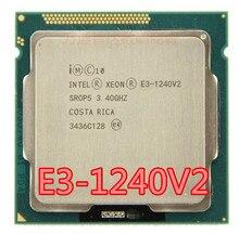 Intel xeon E3 1240 v2 e3 1240 v2 8m, cache 3.40 ghz sr0p5 lga1155 e3 1240 v2 processador central grátis frete E3 1240V2,