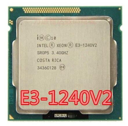 インテル xeon E3 1240 v2 E3 1240 V2 8 2m キャッシュ 3.40 ghz の SR0P5 LGA1155 E3 1240 v2 cpu プロセッサ送料無料 E3 1240V2