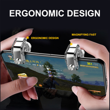 PUBG Mobile Triggers Joystick For Phone Gamepad Metal