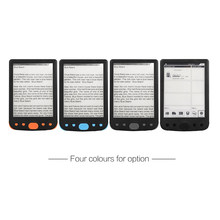 6 Cal e-Book Reader ebook e-ink Screen 800*600 bez odblasków z kablem USB etui z pu wbudowana pamięć e-reader 8GB(China)
