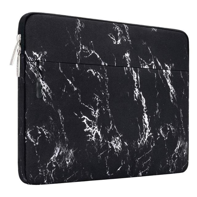 Black Marble Laptop Sleeve Bag 1 1