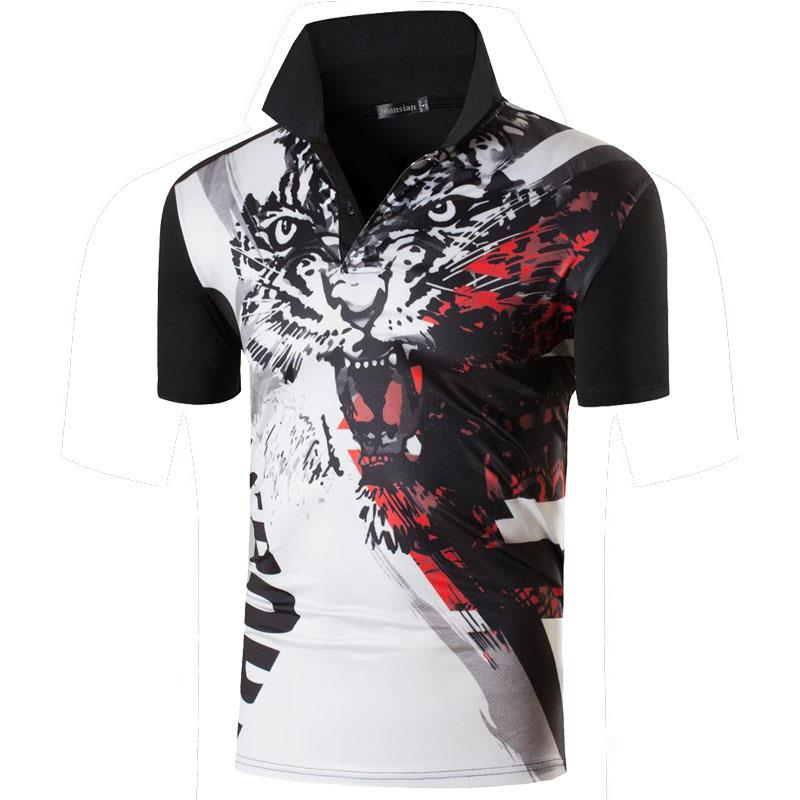 Jeansian Men's Sport Tee Polo Shirts POLOS Poloshirts Golf Tennis Badminton Dry Fit Short Sleeve LSL263 Black