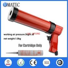 High Quality Pneumatic Caulking Glue Gun 310ml/cc 1Pc With Plastic Cartridge 1Pc