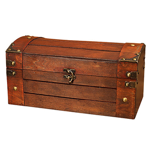 Retro Treasure Chest with Lock