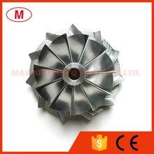 GT15  25 36.30/49.00 millimetri 11 + 0 lame Turbo Prestazioni Billet ruota del compressore/Alluminio 2618/fresatura per la Cartuccia Turbocompressore