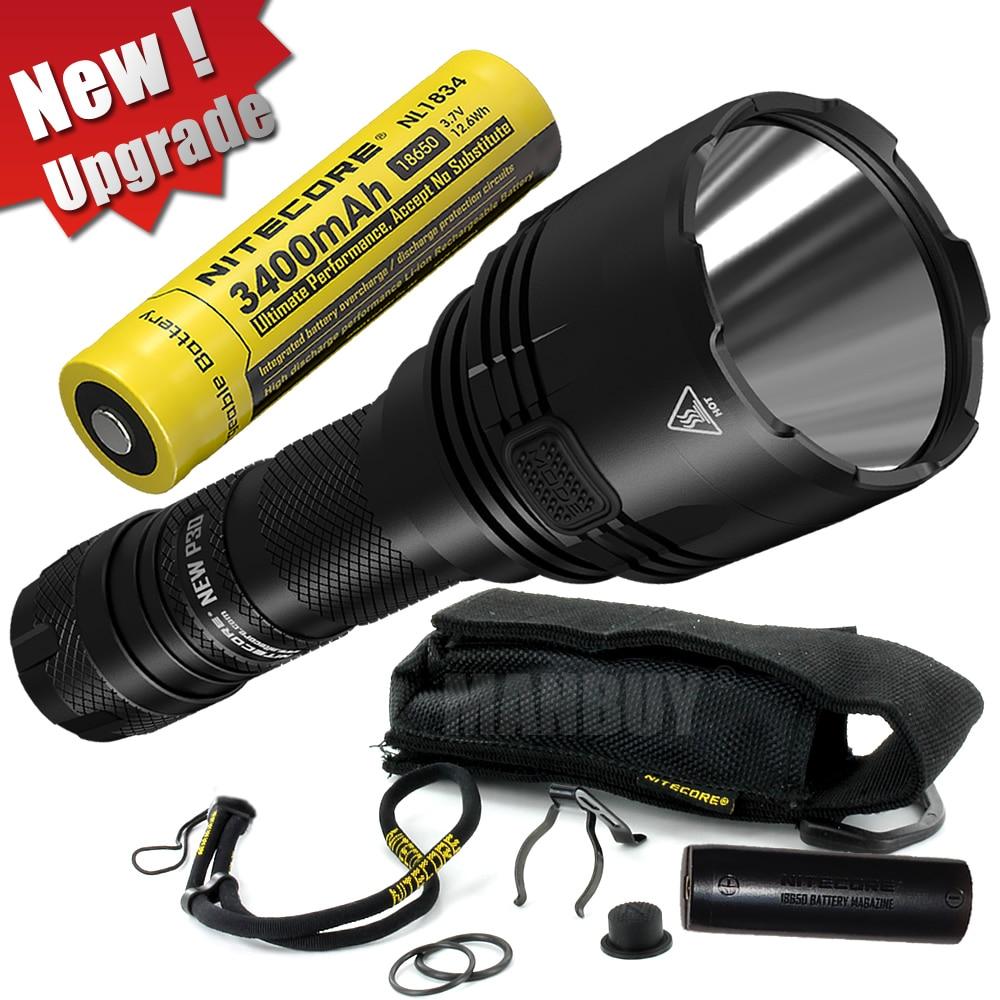 NITECORE 1000 Lumens NEW P30 +18650 Battery Long range Tactical Flashlights Outdoor Hunt Waterproof Portable Torch Free Shipping