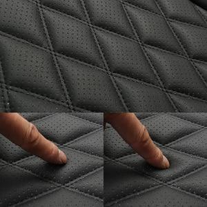 Image 5 - กันน้ำที่นั่งรถหนังUniversalรถยนต์ด้านหน้าเบาะรองนั่งProtector Mat PadสำหรับรถบรรทุกSuv Van