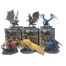 Original Monster Hunter World Iceborne Plus Vol13 PVC Action Figures Dragon Decoration Toys Teostra Model Christmas Gift