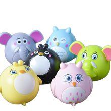 2021  Cute Cartoon Infant Toys Clockwork Wind Up Toys For Children Animal Car Model Pull Back Filed Gift For Kids Birthday Gift