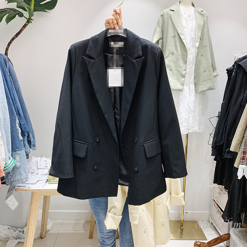 Women's Coats 2020 Spring and Autumn New Fashion Candy Color Small Suit Jacket Female Loose All-match Coat Office Lady Blazer