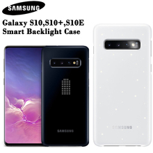 SAMSUNG Original LED Cover for Samsung Galaxy S10 S10Plus S10 Plus S10E S10 X S10E SM G9700 SM G9730 G9750 Led Lighting Effect
