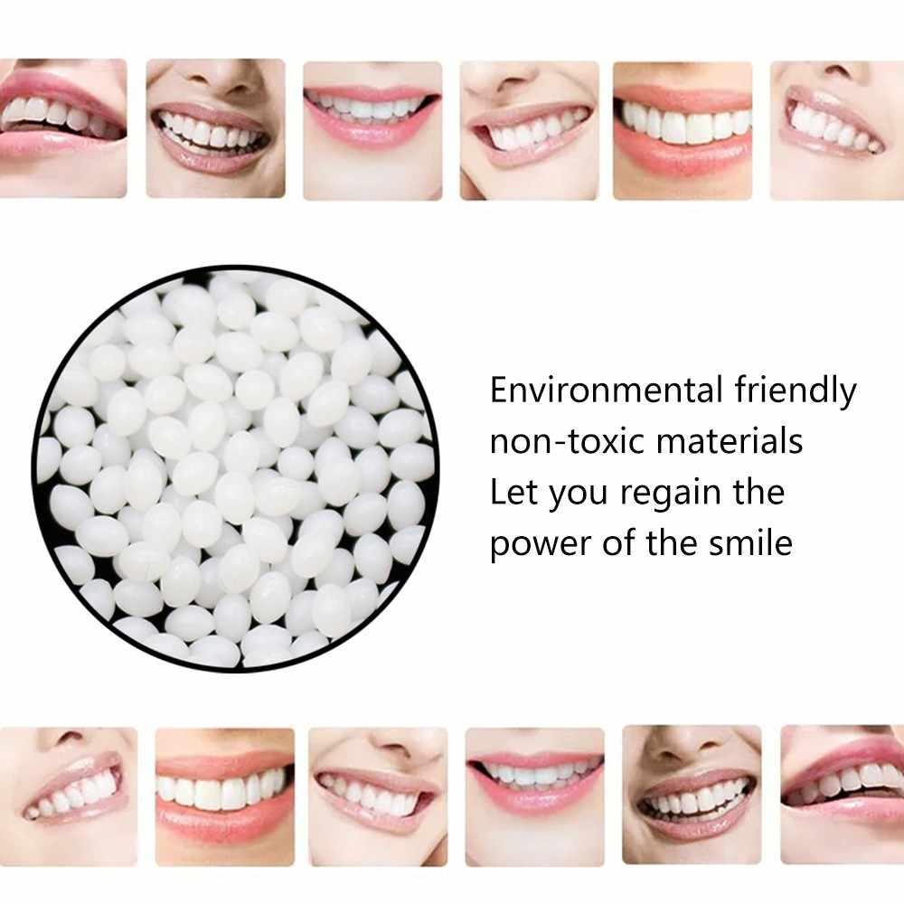 Dente provvisorio Kit di Riparazione Dei Denti E Le Lacune FalseTeeth Solido Colla Adesiva Per Protesi Denti Sbiancamento Dei Denti Strumento di Bellezza #40