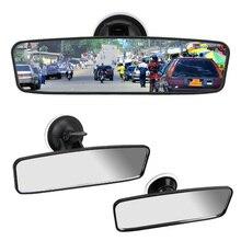 Универсальное внутреннее зеркало заднего вида Автомобильное зеркало заднего вида вращение на 360 ° регулируемая присоска широкоугольное зе...