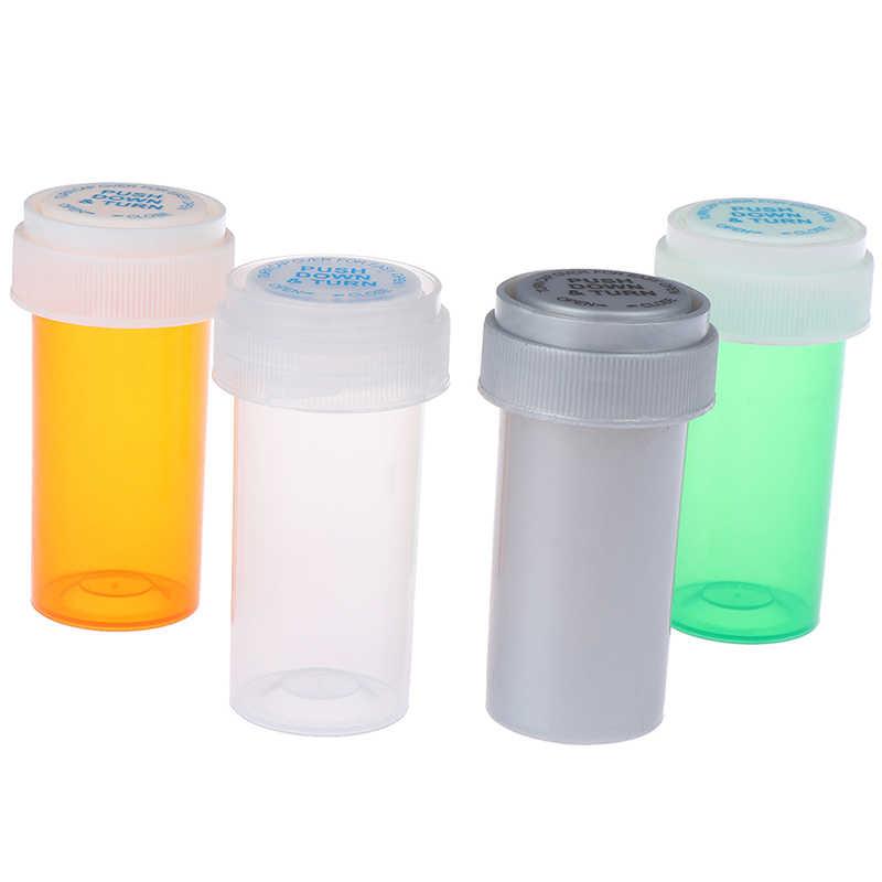 Storage Jar Pink and Turquoise Stash Jar 005 Pill Box