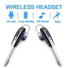 Wireless Bluetooth Kopfhörer Ohrbügel Freisprecheinrichtung Business Sport lauf Headset Stereo Auriculares für Sony Huawei Xiaomi allphone
