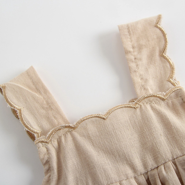 Solid Colour Girl Dress/Jumpsuit