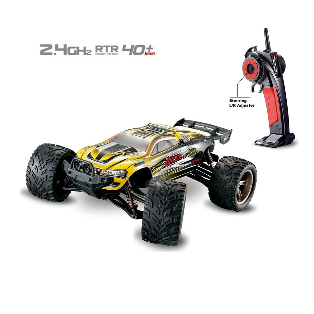9116 1:12 RC Car Brushed Motors Drive Bigfoot Car 2WD Driving Truck Cars Remote Control Car Model Off-Road Vehicle Toy image