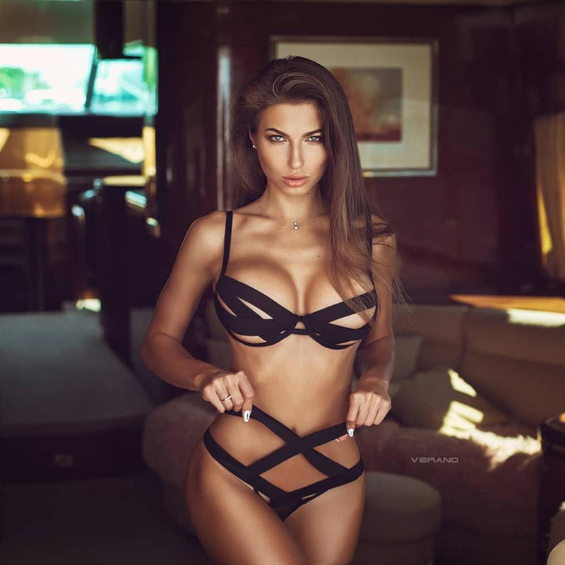 Sizzle Intimates Sexy Teddy lingerie 2PCS