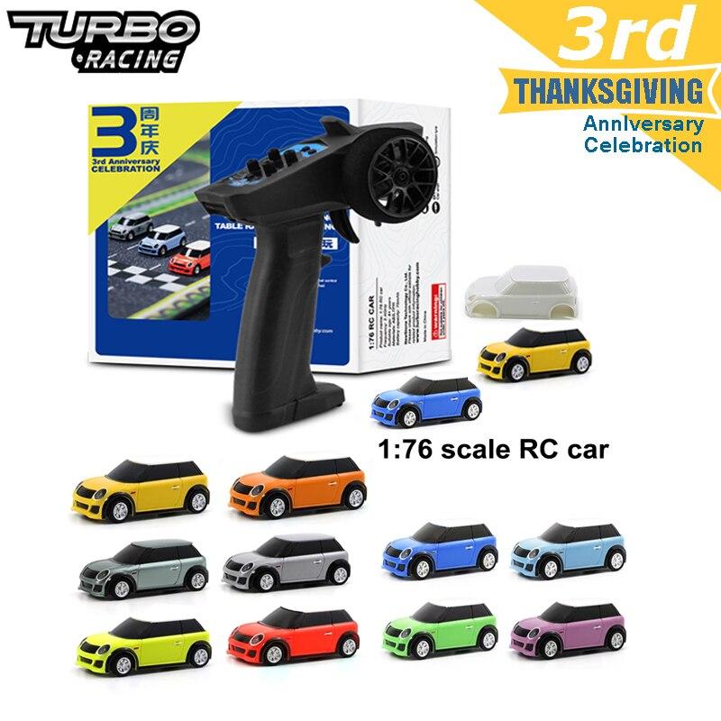 Turbo Racing 1:76 RC автомобиль с 2 x кожуха типа Mini RC автомобили и дистанционное Управление; Электрический гоночный комплект RTR Управление опыт автомобильные игрушки для детей|Радиоуправляемые автомобили|   | АлиЭкспресс