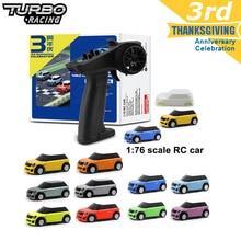 Turbo Racing 1:76 RC автомобиль с 2 x кожуха типа Mini RC автомобили и дистанционное Управление; Электрический гоночный комплект RTR Управление опыт автом...