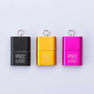 Image 3 - عالية السرعة USB 2.0 واجهة مايكرو SD TF T Flash ذاكرة محوّل قارئ البطاقات خفيفة الوزن المحمولة ذاكرة صغيرة cardreaderبيع بالجملة