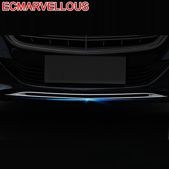 Auto Window Front Bumper Grille Tail Throat Automobile Modified Chromium Car Styling Protecter 16 17 FOR Mercedes Benz S Class