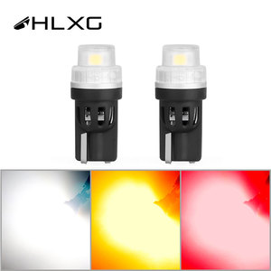 T10 W5W 168 194 LED bulb Wedge Side Lamp Car Tail Side Parking Dome Door Map Clearance Lights Red Yellow White Electrodeless 12V