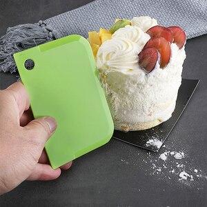 3 шт., инструмент для выпекания шпателей для края торта, пластиковый нож для выпечки, гладкий скребок для торта, ножи шеф-повара, скребок для м...