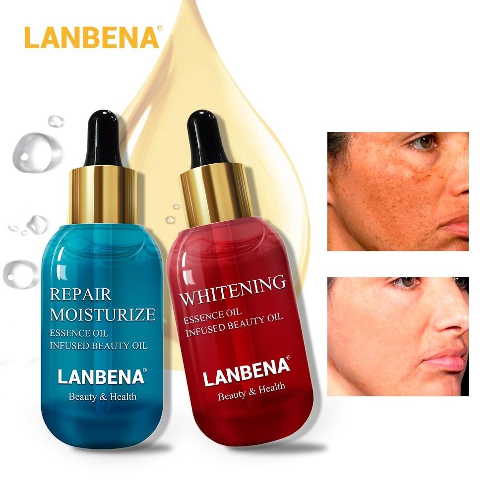 LANBENA Hyaluronic Acid Vitamin C Serum Repair Whitening Essential Oil Remove Acne Firming Skin Care Moisturizing Dry Nourish