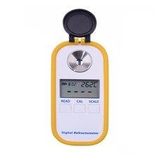 Dr301 цифровой дисплей рефрактометр для мёда измерительный прибор для измерения содержания сахара измеритель концентрации меда рефрактометр