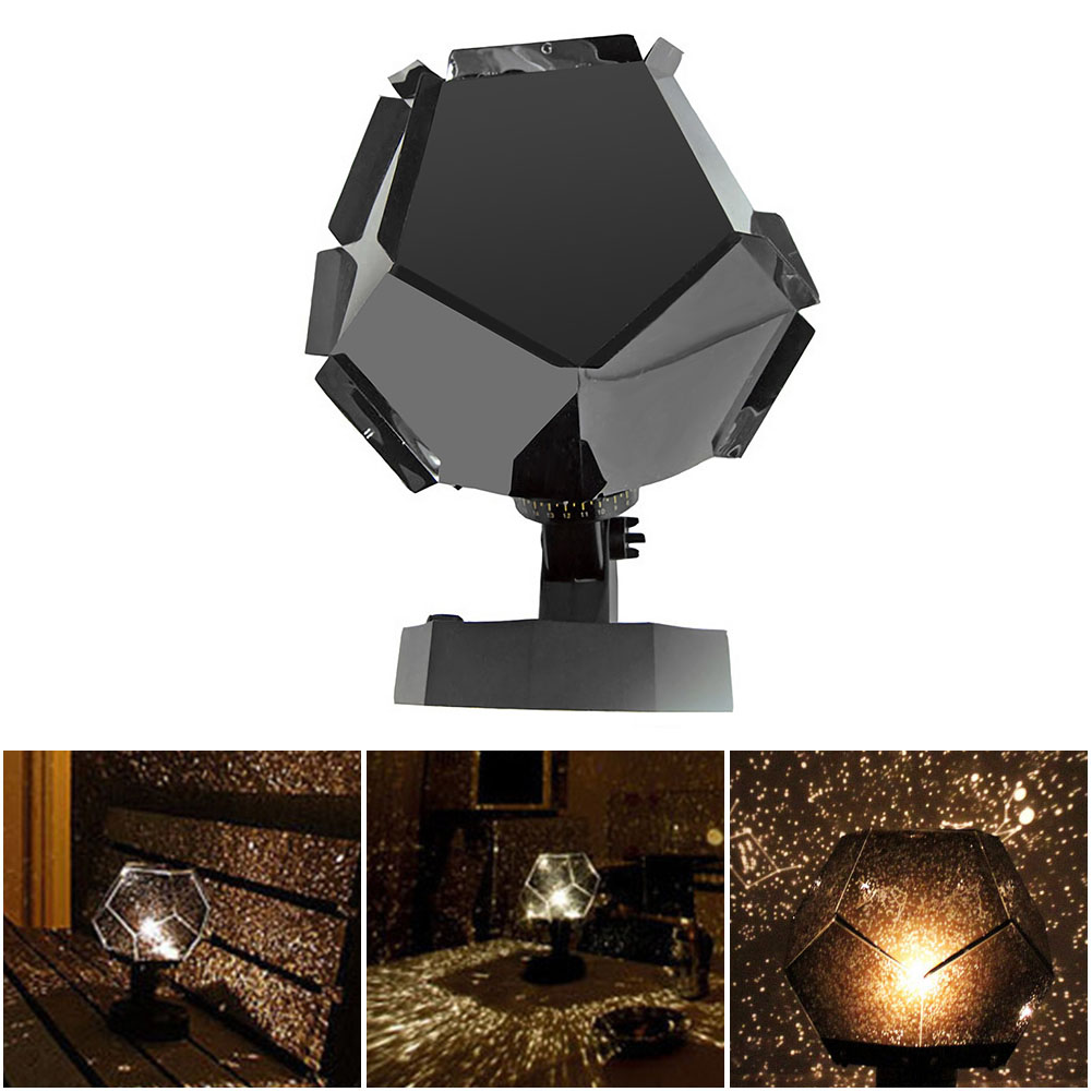 Led Sterrenhemel Projector Night Lights 3D Projectie Night Lamp Usb Opladen Thuis Planetarium Kids Slaapkamer Decor Kamer Verlichting