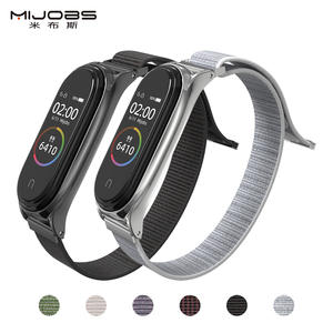 Wrist-Band Nylon Mi 4-Bracelet Xiaomi 3-Accessories Smart 3-Replacement for Watch-Strap