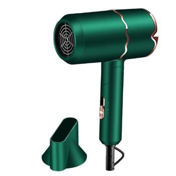 800W Professional Salon Hair Dryer 2 in 1 Hot Air Brush Hair Dryers Negative Ionic Hair Blow Dryer Strong Wind Hot Dryer professional hair dryers light weighte blow dryer salon dryer hot