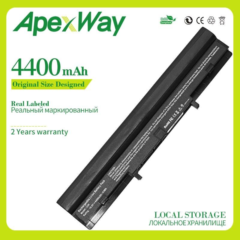 Apexway A42-U36 Laptop Battery For Asus A41-U36 U32 U32U U36 U36J U36JC U36S U36SD U36SG U44 U44S U82 U84