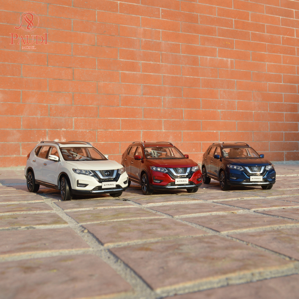 Paudi Model 1/18 <font><b>1:18</b></font> 1 18 <font><b>Nissan</b></font> All New X-TRAIL X TRAIL Rogue Static Simulation <font><b>Diecast</b></font> Alloy Model <font><b>Car</b></font> Gifts Collections image