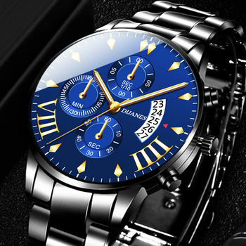 relogio masculino Men's Fashion Watches for Men Business Casual Stainless Steel Quartz Watch Date Calendar Clock montre homme fashion mens stainless steel watch luxury calendar quartz wrist watches men business casual watch for man clock montre homme