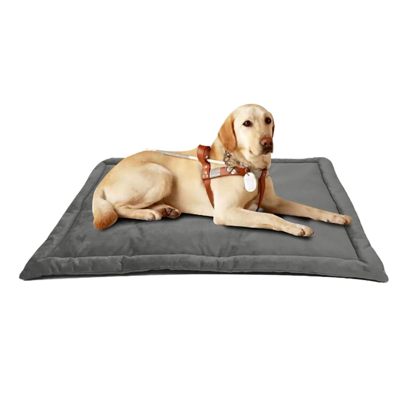 Dog Bed Mat, Dog Crate Pad Mat, Dog Mattress Washable Blankets Anti-Slip Pets Kennel Pads Durable Pet Dog Crate Bed for Small Me image