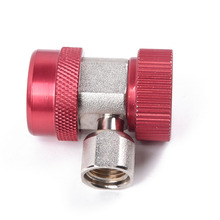 R134A High Low Quick Coupler Connector Adapters Type AC Manifold Gauge Auto Set For A/C Brass Adapter