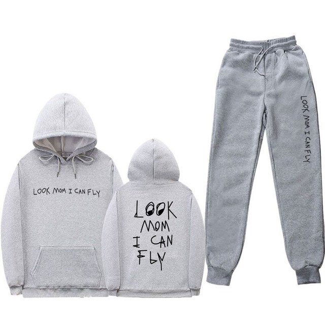 SET TRAVIS SCOTT HOODIE + TROUSERS (20 VARIAN)