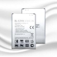 NOUVEAU Remplacement BL 53YH 3000mAh Batterie De Téléphone Pour LG Optimus G3 D830 D850 D851 D855 LS990 VS985 F400 LG G3 Batteries