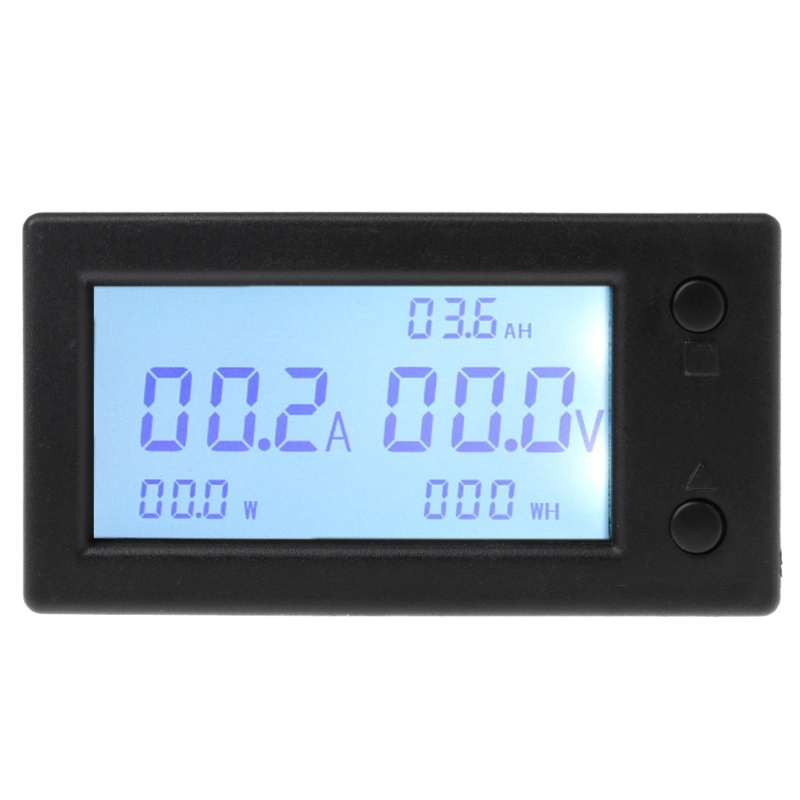 Tools : DC 300V 100A 200A 400A digital Voltmeter Ammeter Battery Capacity coulometer Power electricity watt-hour meter With Hall sensor