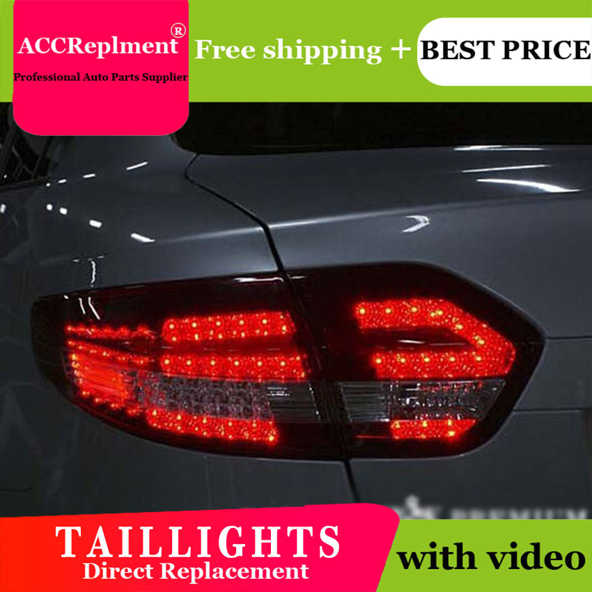 Car Styling For Renault Fluence LED Rear Lights LED Taillights 2011-2015 For Fluence LED Rear Lamp Led Lights