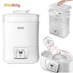 Kind König 3 In1 Baby Milch Flasche Wärmer Trockner Elektrische Milch Flasche Dampf Sterilisator Trockner Heizung für Flasche